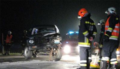 Verkehrsunfall B1 Höhe Schachinger