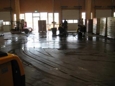 Wasserschaden Logistikpark
