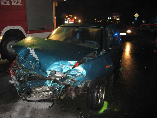 Verkehrsunfall B1xB133