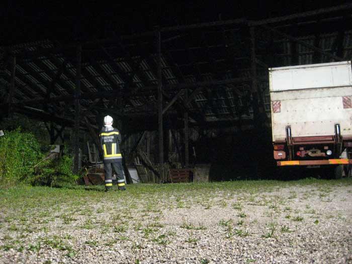 Diese Halle war massiv einsturzgefährdet und wurde gesperrt.