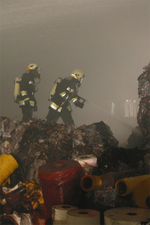 Dieser Brand 2007 wurde durch eine Brandmeldeanlage festgestellt